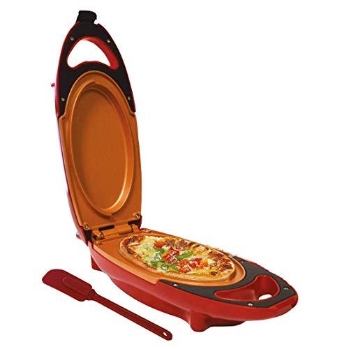 Candora. Chef Rápido Antiadherente Omelette Maker Eléctrico Sartén de freír con Dos Placas Cocina Helper para Bake Frittatas Paninis Pizzas