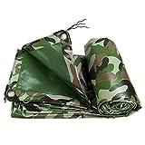 LXLA- Lonas de camuflaje resistentes con ojales, lona impermeable de PVC, cubierta de protección solar para remolque de tienda - 450 g/m² (Tamaño : 2m x 2m)