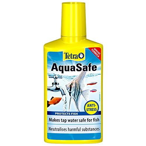Tetra AquaSafe to Turn Tap Water into Safe and Healthy Water for Fish and Plants, 250 ml