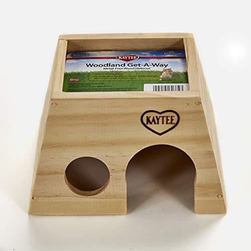 Kaytee Woodland Get-A-Way, Brown, Medium
