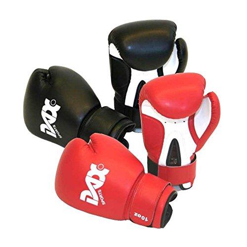 DAX Kinder Boxhandschuhe 8oz rot-weiß