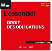 Livres L'essentiel du droit des obligations PDF