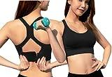 Sujetador Deportivo Tops Sujetador de Yoga para Mujer Tallas Grandes Top Gimnasio Sujetador...