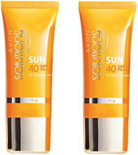 Avon Solutions Sun UV Protective Lotion SPF40 PA+++(set of 2 of 75 g each)