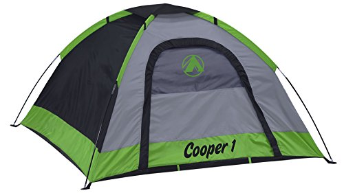 Gigatent 2-Person Dome Tent - Rain Fly & Carry Bag- Easy Set Up - Great for Camping, Backpacking, Hiking & Outdoor Music Festivals - Cooper Boy Scouts Camping Tent