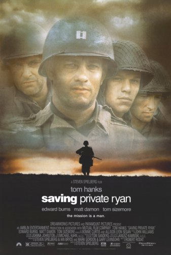 Pop Culture Graphics Saving Private Ryan 27x40 Movie Poster