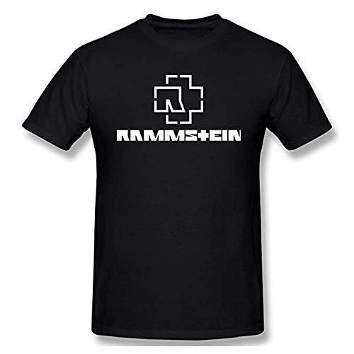 NR FreYuPBeR Men's AGR Ram-ms-tein Classic T-shirt Black met korte mouwen Black
