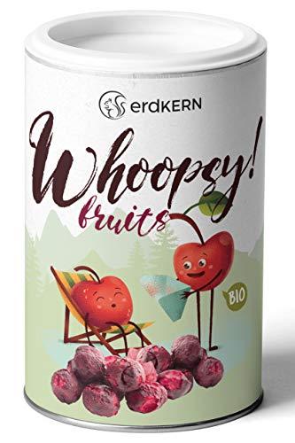 Whoopsy! Fruits - 35g gefriergetrocknete Kirschen, vegan, 100%, ohne Zusätze