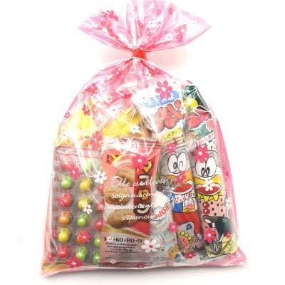 花柄袋 205円 お菓子 詰め合わせ 駄菓子 袋詰め おかしのマーチ