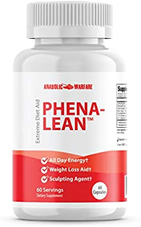 Phena-Lean Premier Supplement from Anabolic Warfare — Thermogenic Diet Pill, Helps Boost Metabolism