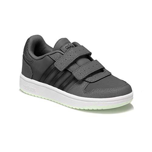 adidas Hoops 2.0 CMF C D33 dark grey neon grün EE6723