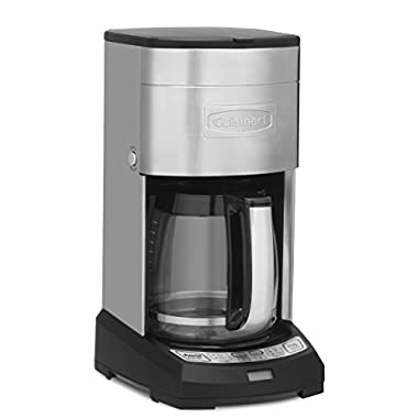 Cuisinart DCC-3650 Elite 12-Cup Coffeemaker, Stainless Steel - Amazon Exclusive
