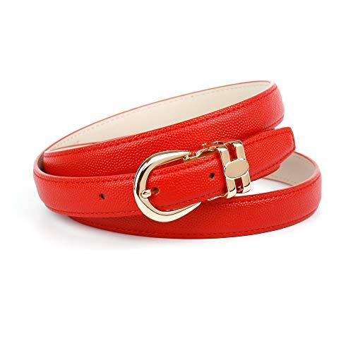 Anthoni Crown C43ha60 Cintura, Rosso (Dunkelrot 060), 6 (Taglia Produttore: 90) Donna