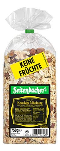 Seitenbacher Müsli Knackige-Mischung, 3er Pack (3x 750 g Packung)