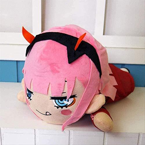 NC56 Anime Darling in The Plush Zero Model Stuffed Doll Lindo cojín Almohada Juguetes para Regalo 40cm Rojo