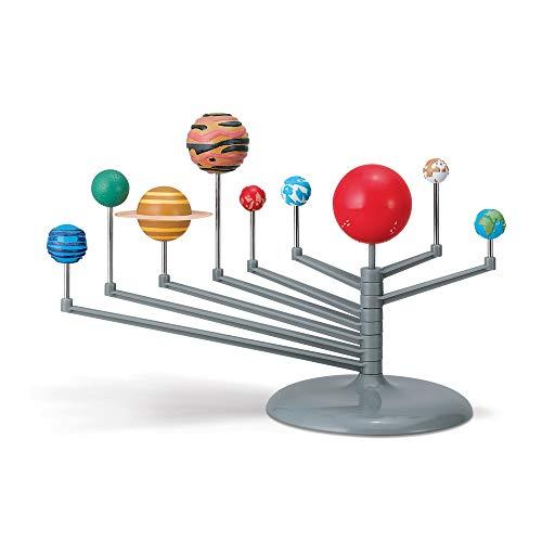 3D Sonnensystem Modell zum basteln leuchtend I Planetarium Planetensystem I Bastelset für Kinder ab 8 Jahre I Geschenkideen für Jungen Mädchen zu Weihnachten Ostern Geburtstag