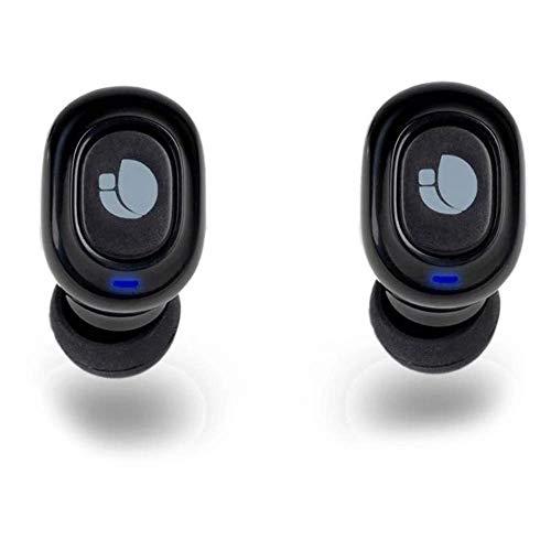 NGS Auriculares INTRAUDITIVOS ARTICA Lodge Compatible con Tecnología Bluetooth 5.0 - Tecnología True Wireless. 15 HRS. AUTONOMÍA. Base Carga.