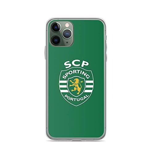 Phone Case Sporting Cp Compatible with iPhone 6 6s 7 8 X Xs Xr 11 12 Pro Max Mini Se 2020 Funny Shockproof Charm