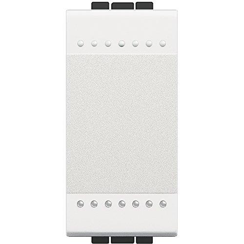 BTicino SN4001NF Livinglight Interruttore, 1P, 16 A, 1 m, Bianco, 1 Pezzo