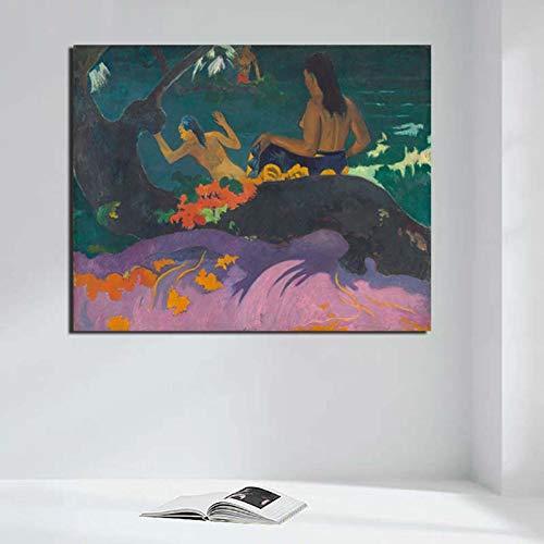 KWzEQ Papel Tapiz Abstracto Lienzo Arte póster Imprimir imágenes Modernas para Sala de Estar decoración del hogar Arte,Pintura sin Marco,70x90cm