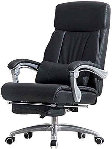 Noble Chair Computerstuhl Home Swivel Chair Lift Bürostuhl Rückenlehne Liegestuhl Hocker Bequeme STEGENARGE BOSS Sessel (Color : Black -a)