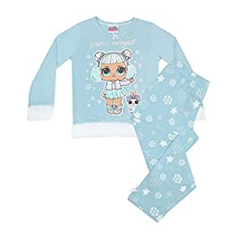 Vanilla Underground LOL Surprise Dolls Neige Ange Fur Entretenu Pyjama Long Girl