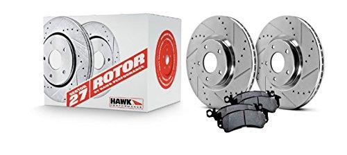 Hawk Performance hk4360.456y Disque de frein et kit Rotor