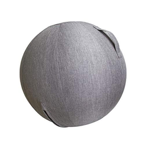 F Fityle 60 / 65cm Yogaball-Cover Bezug für Sitzball Fitnessball Yogaball Büroball Gymnastikball - 60cm