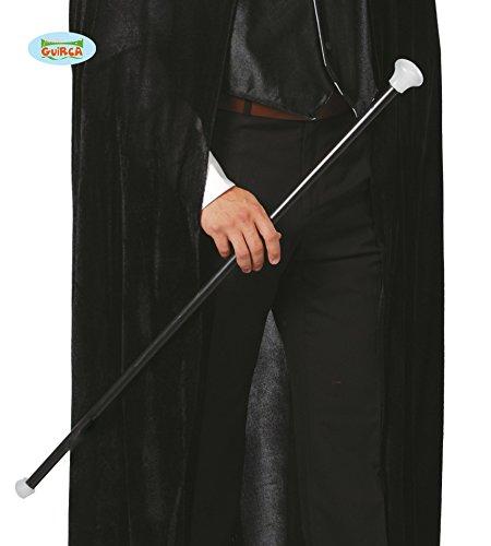 FIESTAS GUIRCA Palito dandi Negro de 80 cm en plástico Dandy Bailarina Musical.