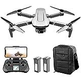Drone con cámara 4K HD 5G Wifi 500M Video en vivo y GPS, RC Quadrocopter con control remoto con cámara gran angular de 120 °, Control de teléfono celular, Sígueme, Regreso a casa para principiantes