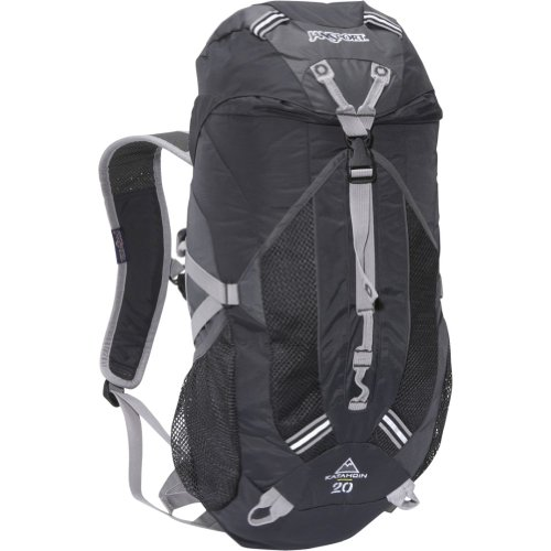 JANSPORT Trail Series Katahdin Technical Backpack (Grey Tar/Forge Grey, 50-Litre)