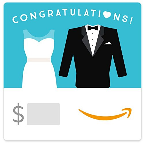 Amazon eGift Card - Wedding Dress and Tuxedo