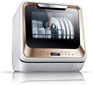 Lavavajillas inteligente para casas pequeñas, tecnología 3D de alta presión de pulverización, alta temperatura de 72 grados Disolver lavado, esterilización, paso de secado, ahorro de energía y preoc