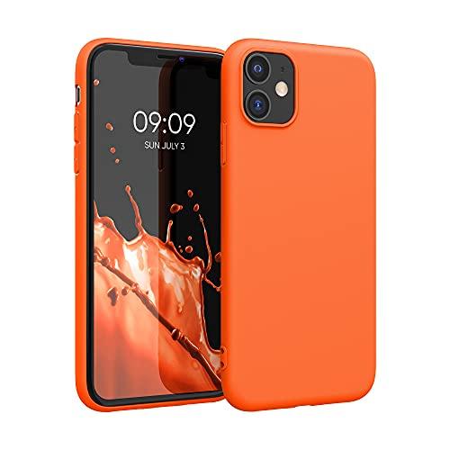 kwmobile Hülle für Apple iPhone 11 - Hülle Handyhülle - Handy Hülle in Neon Orange