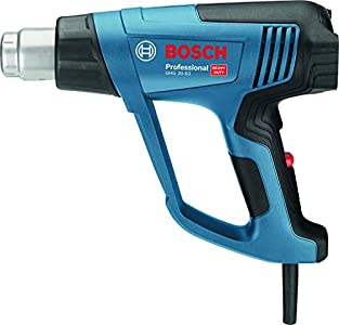 Bosch Professional GHG 20-63 - Decapador (2000 W, temperatura regulable 50 hasta 630°, pantalla digital, 3 flujos, en caja)