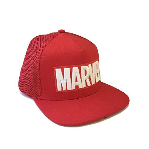 Marvel Comics Logo Embroidered Oficial Gorras de béisbol