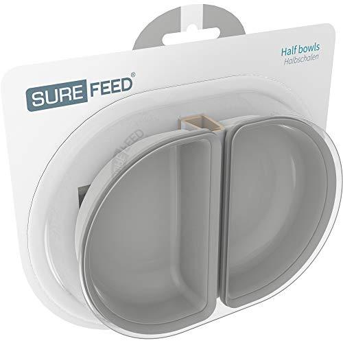 SureFeed Half Bowl Grey