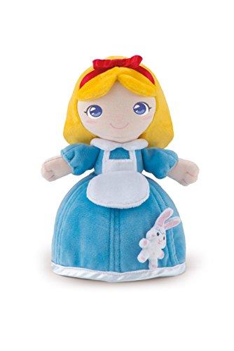 Trudi 64264 Bambola Alyssa Con coniglietto Puppe, 24 cm