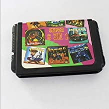 Linker Wish 16 Bit Sega MD Game Big Promotion 8 In 1 No Repeated 16 bit MD Game Card For Sega NTSC systems