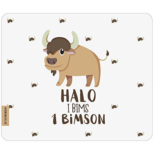 JUNIWORDS Mousepad - Halo i bims 1 Bimson