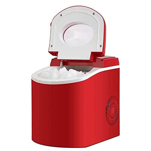 yunyu Haushalts kleine Eismaschine 12KG Gewerblicher Milchteeladen KTV Round Ice Manuelles Hinzufügen von Wasser Automatische Eismaschine, Silent Ice Machine