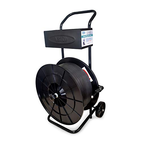 IDL Packaging-PD-83 Strapping Cart/Dispenser for Polypropylene (PP) Strapping Coils with 8 x 8 Core