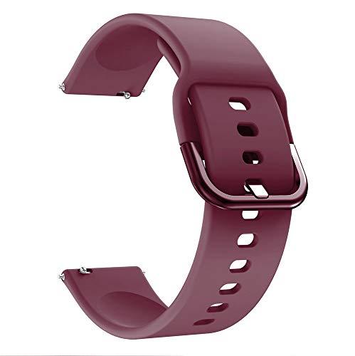 SGGFA Correa de reloj de 22 mm para Huawei Watch GT 2e / GT 2 46 mm para Amazfit GTR 47 mm Silicona 22 mm para Samsung Galaxy Gear S3 Classic/Frontier Correa de reloj de repuesto