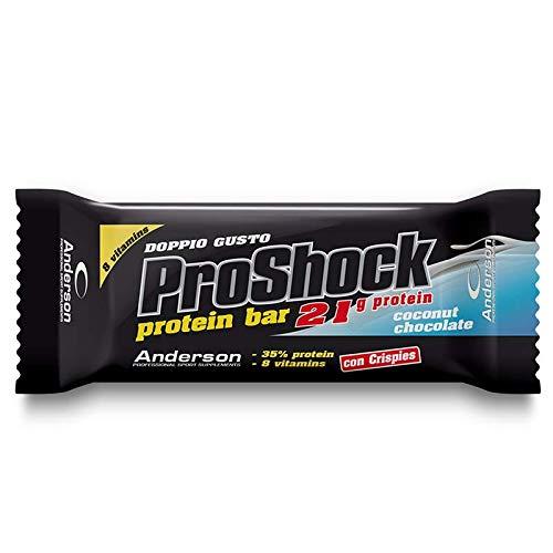 Anderson Proshock, Cocco e Cioccolato - 24 Barrette Proteiche da 60 g