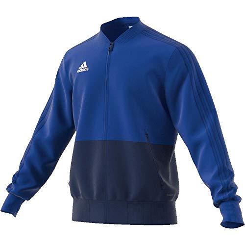 adidas Con18 Pre Jkt Chaqueta de Deporte, Hombre, Azul (Azul Claro/Azul/Blanco), M
