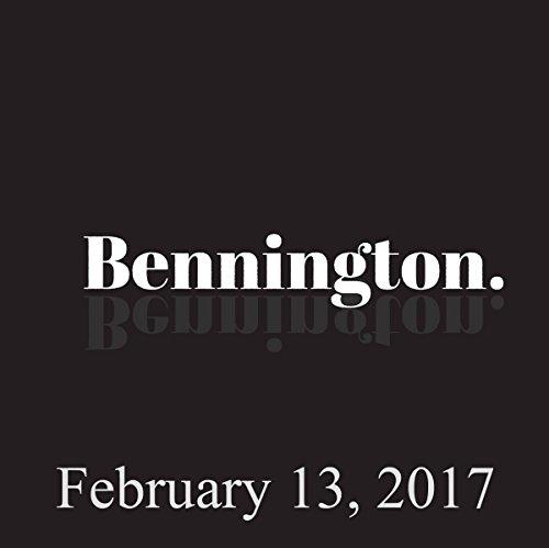 Bennington, February 13, 2017 audiobook cover art