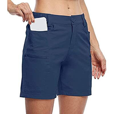 Amazon - Save 80%: UNBRUVO Women's Summer Outdoor Active Hiking Golf with Pockets Short Pants H…