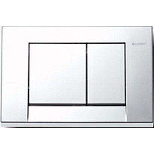 Geberit 115.777.21.1 Bolero Dual-Flush Actuator Plate, Polished Chrome by Geberit