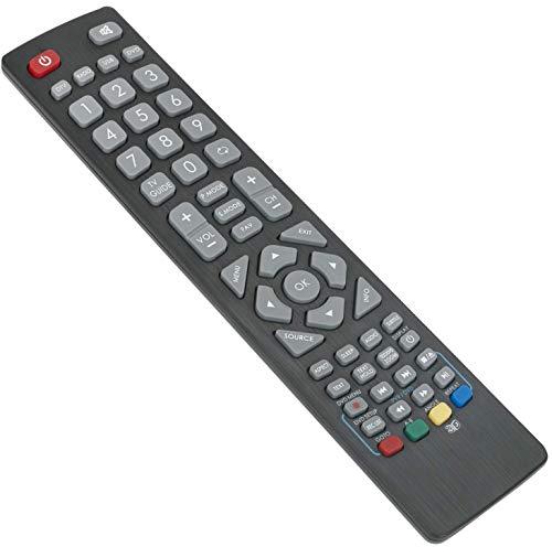 SHW/RMC/0103 Mando a Distancia de Repuesto - VINABTY Reemplace Control Remoto para Sharp Aquos 3D TV LC-40CFE5200E...