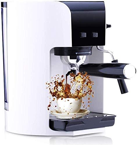 CHNFF Praktische Koffiemachine Thuis Kleine Italiaanse Half automatische Italiaanse Koffiepot Schuim Machine Grinder Combinatie